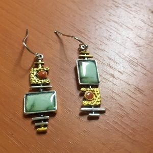 Beautiful exotic Brazilian earrings